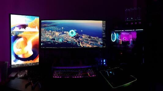 My Vertical Monitor Setup