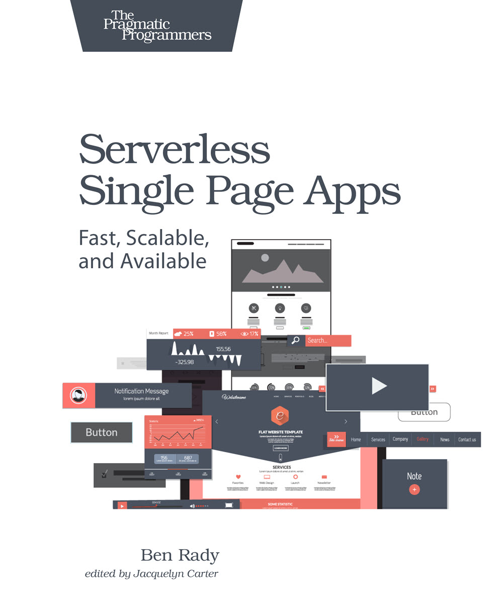 Serverless Single Page Apps (PragProg)